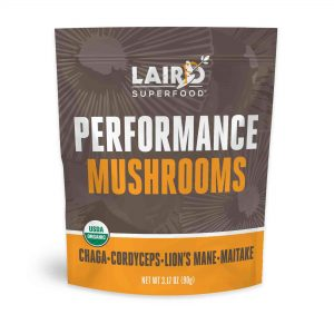 Laird Superfoods Performance Mushrooms is one of Laird Hamiton's recommended supplements