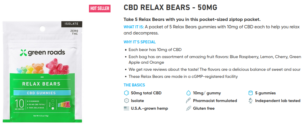 CBT Gummy Bears for Relaxation & Getting rid of Stage Fright