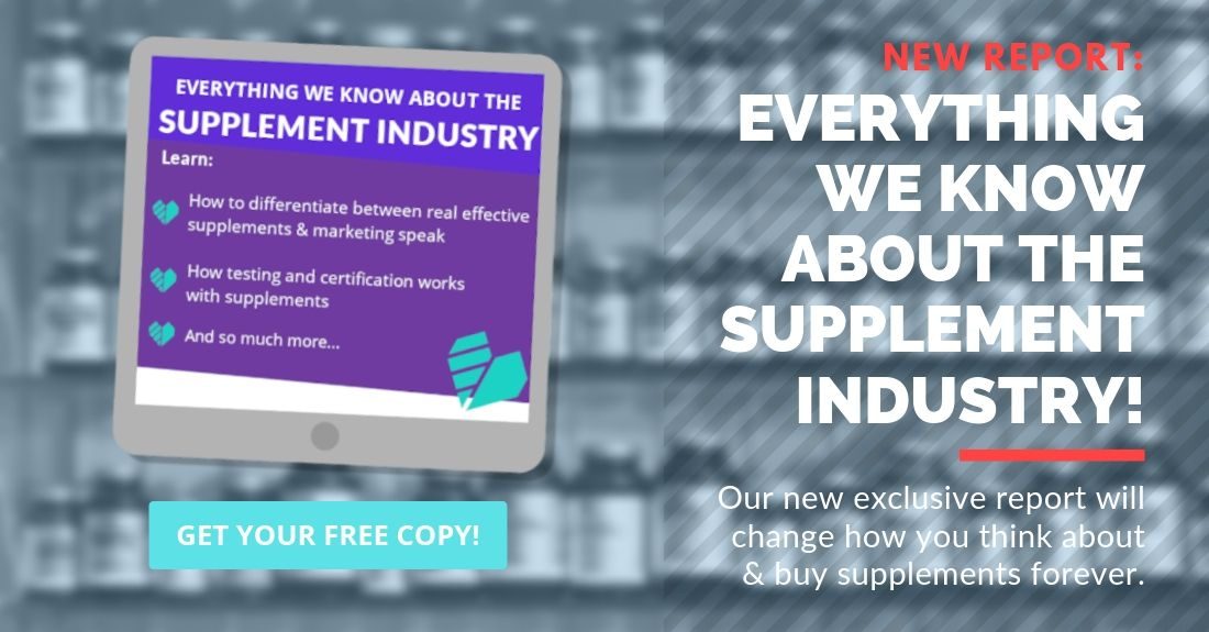 New free uVitals report: Everything we know about the supplement industry