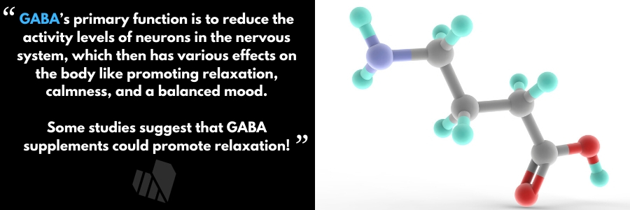 GABA or Gamma-aminobutyric acid has a huge effect on anxiety levels & has been studied thoroughly for its effect on performance anxiety & stage fright