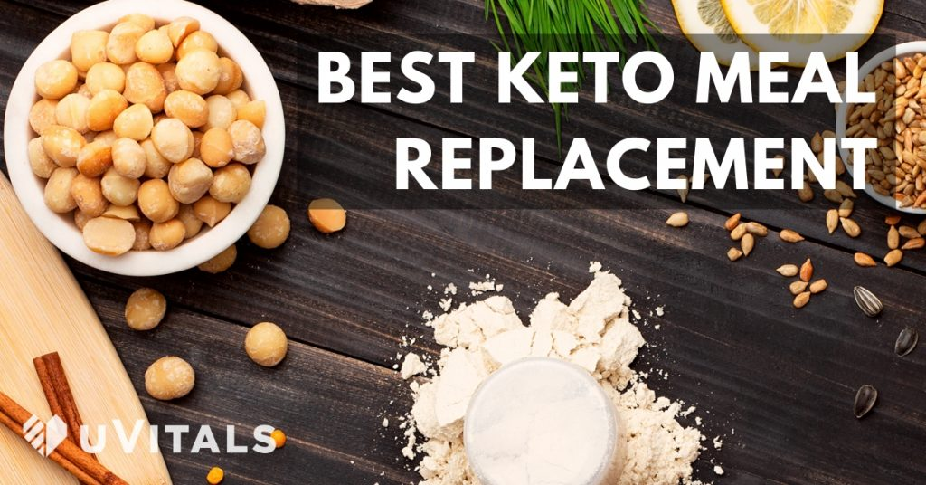 Best Keto meal replacement options reviewed including Ample K, Stated, Ketologie & Ketologic meal replacements