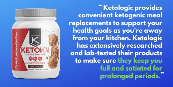KetoLogic KetoMeal Keto Diet Meal Replacement