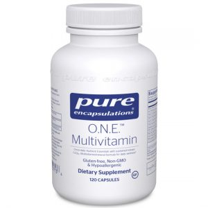 Rhonda Patrick reccomends O.N.E. Multivitamin by pure encapsulations