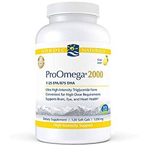 Rhonda Patrick recommends Nordic Naturals ProOmega 2000 supplement