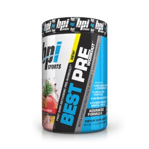 BPI Sports Ketogenic Preworkout supplement