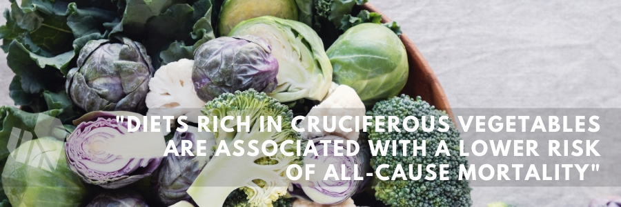 Cruciferous vegetables are associated with a lower risk of all-cause mortality