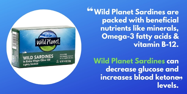 Dom DAgostino Sardines - Dom loves wild planet sardines and talks about how he eats them for his first meal of the day and they lower glucose levels and increase blood ketones