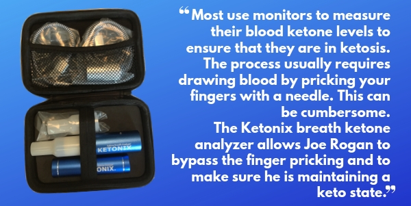 Ketonix breath ketone analyzer for checking you're in ketosis without drawing blood
