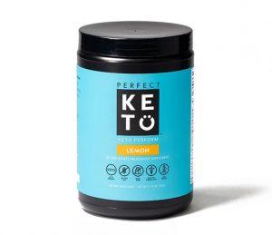 Perfect keto Perform Preworkout drink