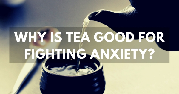 Why is tea and l-theanine good for fighting anxiety?